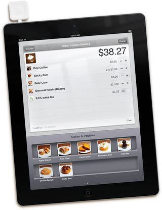 Square and iPad as a register
